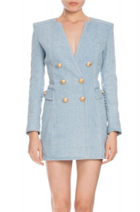 Balmain Denim Dress