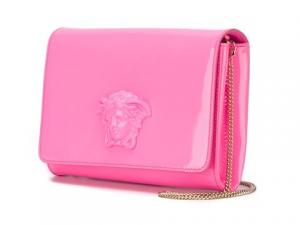 Versace Pink Palazzo Clutch