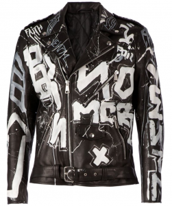 Faith Connexion Graffiti Jacket
