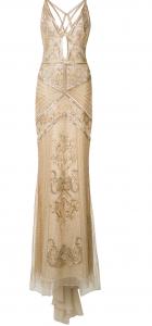 Roberto Cavalli Nude Gown